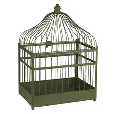 Pajaro Bird Cage in Green
