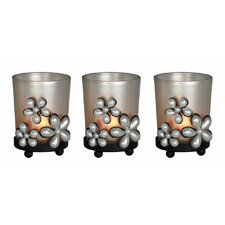 Pearl Flowers Hurricane (Set of 3)