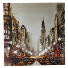 New York Empire State Canvas Art