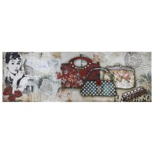 Audrey Hepburn Handbags Wall Art