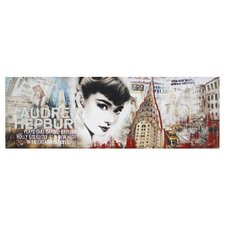 Audrey Hepburn New York Wall Art