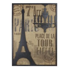 Vintage Paris Wall Art
