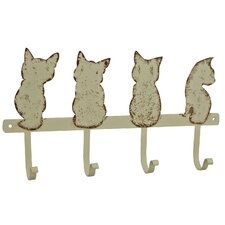 Hakenleiste Cat Quartet mit 4 Haken