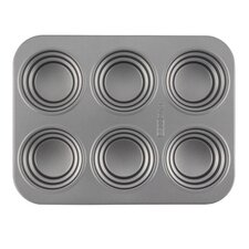 37.8cm Non Stick Stacked Circle Carbon Steel Cakelette Pan