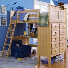 Kenai Loft Bed with Ladder