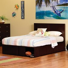 Modeno Full Panel Bed with Storage