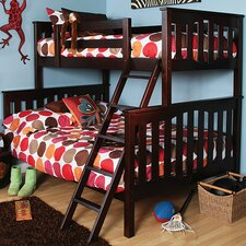 Seneca Twin Over Full Bunk Bed with Ladder