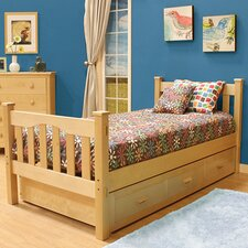 Gabriel Slat Bed with Trundle