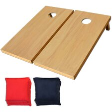 Solid Wood CornHole