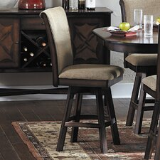 "Westwood 24"" Swivel Bar Stool (Set of 2)"