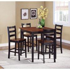 Lynn 5 Piece Counter Height Dining Set