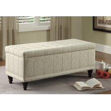 Afton Fabric Bedroom Storage Ottoman