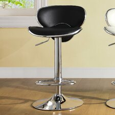 Ride Airlift Adjustable Height Swivel Bar Stool (Set of 2)