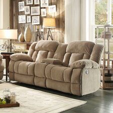 Laurelton Double Glider Reclining with Center Console Loveseat