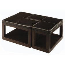 "<strong>Woodbridge Home Designs</strong> 3250 Series ""L"" Ottoman Coffee Table"