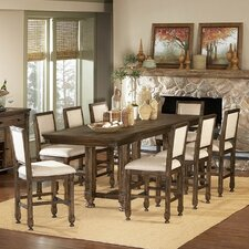 <strong>Woodbridge Home Designs</strong> 893 Series Counter Height Dining Table