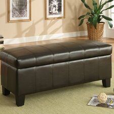 Clair Bi-cast Vinyl Bedroom Storage Ottoman