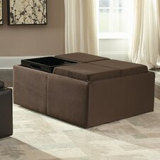 <strong>Woodbridge Home Designs</strong> Kaitlyn Cocktail Ottoman