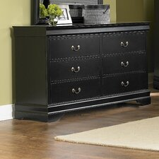 <strong>Woodbridge Home Designs</strong> Marianne 6 Drawer Dresser