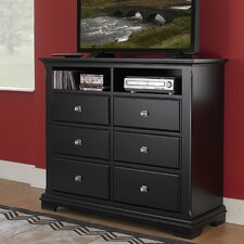 Preston 6 Drawer Media Dresser