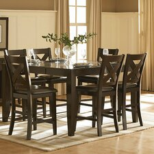 <strong>Woodbridge Home Designs</strong> Crown Point Counter Height Dining Table