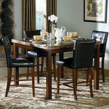 <strong>Woodbridge Home Designs</strong> Achillea 5 Piece Counter Height Dining Set