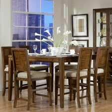 <strong>Woodbridge Home Designs</strong> Campton 7 Piece Counter Height Dining Set