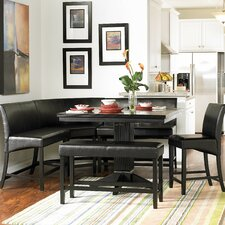 <strong>Woodbridge Home Designs</strong> Papario 6 Piece Counter Height Dining Set