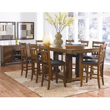 Kirtland 9 Piece Counter Height Dining Set