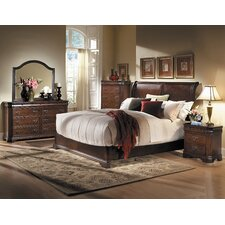 <strong>Woodbridge Home Designs</strong> Karla Sleigh Bedroom Collection