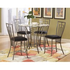 Flight 5 Piece Counter Height Dining Set