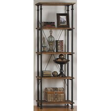 "Factory 74.5"" Bookcase"
