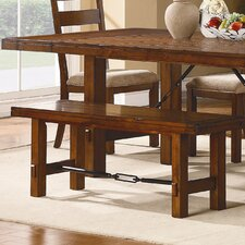 Clayton Wooden Kitchen Bench