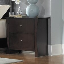 Avelar 2 Drawer Nightstand