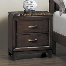 <strong>Woodbridge Home Designs</strong> Ottowa 2 Drawer Nightstand