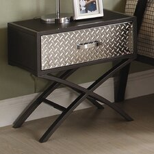 <strong>Woodbridge Home Designs</strong> Spaced Out 1 Drawer Nightstand