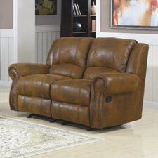 Quinn Double Rocker Reclining Loveseat