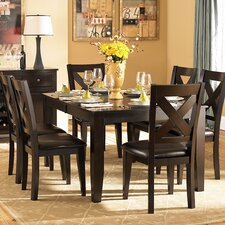<strong>Woodbridge Home Designs</strong> Crown Point 7 Piece Dining Set