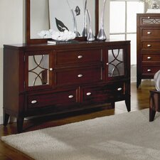 <strong>Woodbridge Home Designs</strong> Simpson 4 Drawer Combo Dresser