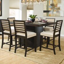 Miles 7 Piece Counter Height Dining Set