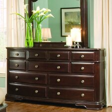 858 Series 11 Drawer Dresser