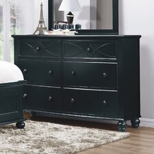 <strong>Woodbridge Home Designs</strong> Sanibel 6 Drawer Dresser