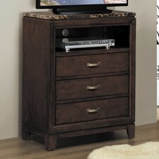 Ottowa 3 Drawer Media Chest