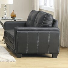 Dwyer Leather Loveseat