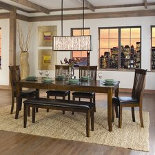 <strong>Woodbridge Home Designs</strong> Alita 6 Piece Dining Set