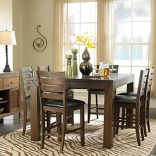 Eagleville 7 Piece Counter Height Dining Set
