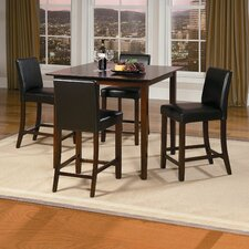 Weitzmenn 5 Piece Counter Height Dining Set