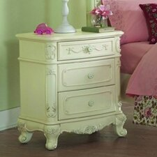 <strong>Woodbridge Home Designs</strong> 1386 Series 3 Drawer Nightstand