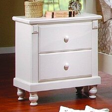 875 Series 2 Drawer Nightstand