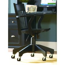 High-Back Office Chair with Arms